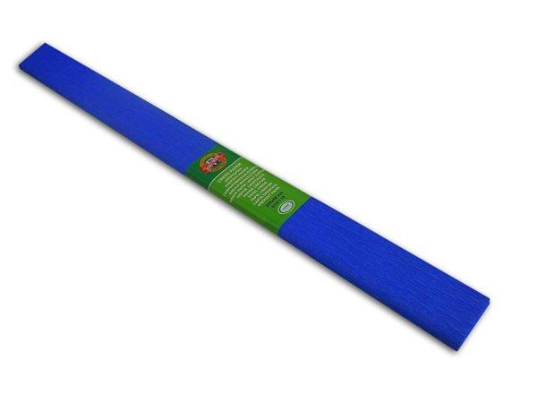 Koh-i-noor Krepový papír barva 15 modrá - Role 50×200 cm