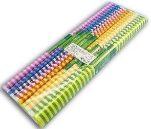 Koh-i-noor Krepový papír 9755 pruhovaný MIX - souprava 10 barev