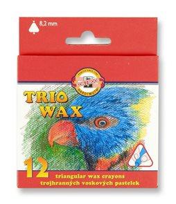 Koh-i-noor trojhranné voskovky 8272 - 12 barev
