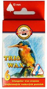 Koh-i-noor trojhranné voskovky MAXI 8271 - 6 barev
