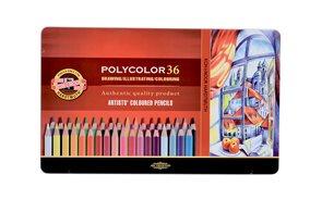 Umělecké pastelky Koh-i-noor POLYCOLOR - 36 ks