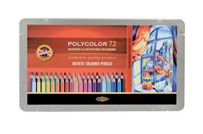 Umělecké pastelky Koh-i-noor POLYCOLOR - 72 ks