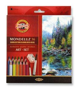 Umělecké akvarelové pastelky Koh-i-noor 3712 - 36 ks
