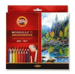 Umělecké akvarelové pastelky Koh-i-noor 3714 - 72 ks