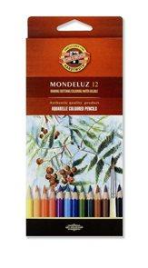 Umělecké akvarelové pastelky Koh-i-noor 3716 - 12 ks