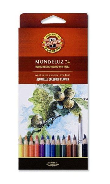 Umělecké akvarelové pastelky Koh-i-noor 3718 - 24 ks