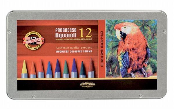 Umělecké akvarelové pastelky Progresso 8782 - 12 ks