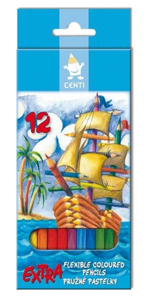 Koh-i-noor pastelky CENTI 2162 - 12 ks