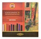 Tvrdé umělecké pastely Koh-i-noor - GIOCONDA 8114