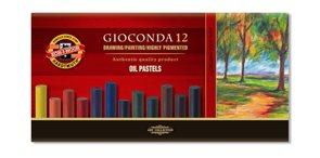 Olejové pastely Koh-i-noor - GIOCONDA 8352 - 12 ks