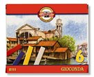 Koh-i-noor olejové křídy - GIOCONDA 8111 - 6 barev
