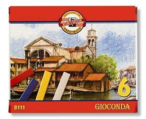 Křídy olejové Koh-i-noor - GIOCONDA 8111 - 6 barev