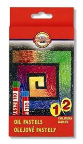 Koh-i-noor olejové pastely - 12 barev