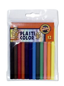 Koh-i-noor pastelky PLASTICOLOR 8732 - 12 barev
