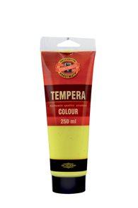 Temperová barva koh-i-noor Tempera 250 ml - žluť citronová