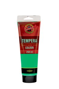 Temperová barva koh-i-noor Tempera 250 ml - zeleň světlá