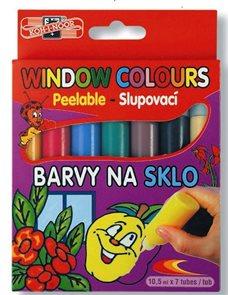 Koh-i-noor barvy na sklo - 7 barev