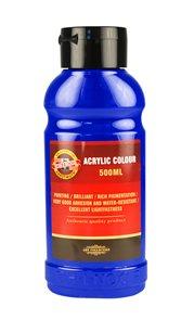 Koh-i-noor akrylová barva Acrylic - 500 ml - ultramarin