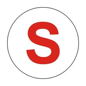 Suchovod  (symbol S) - 20×20/ fólie