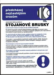 Pravidla bezpečné práce pro stojanové brusky - A3/ plast