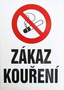 Zákaz kouření  (dle 379/2005 Sb.) - A4/ fólie