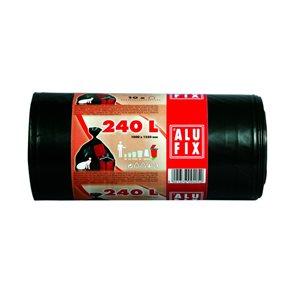 Pytle na odpad Alufix 240l - černé ( 10 ks )