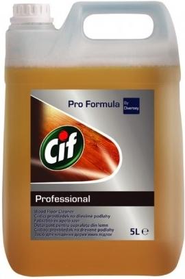 Cif Profesional - mýdlový čistič na dřevěné podlahy - 5 l