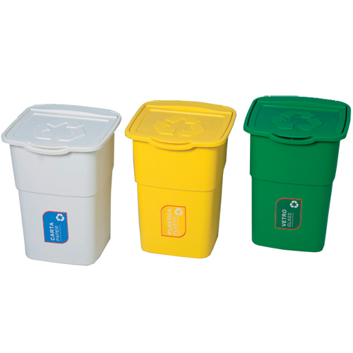 Odpadkový koš - sada 3 ks