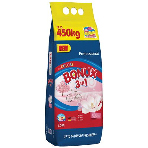 Bonux prací prášek -Expert Color - 7,5 kg