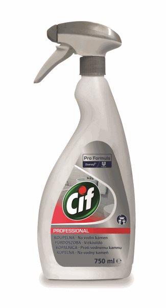 Cif Profesional čistící sprej - koupelny - 750 ml