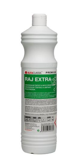 RAJ EXTRA PREMIUM na mytí podlah, povrchů a předmětů  -1 L