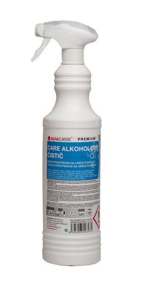 CARE ALKOHOLOVÝ ČISTIČ PREMIUM na omyvatelné povrchy - 800 ml