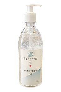 Dezinfekční gel na ruce Emspoma - 500 ml s pumpičku