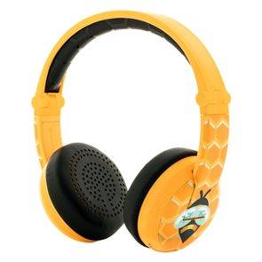 BuddyPhones Wave - Bee, dětská bluetooth voděodolná sluchátka - žlutá