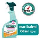 Sanytol čistič silně odmašťující MAXI - kuchyně 750 ml