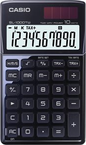 Casio Kalkulačka SL 1000TW BK - černá