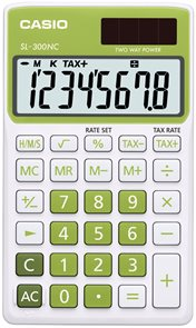 Casio Kalkulačka SL 300 NC GN - tmavě zelená