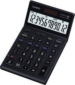 Casio Kalkulačka JS 120TVS BK - černá