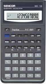 Kalkulačka Sencor SEC 139