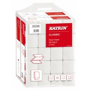 Z-Z ručníky Katrin 2 vrstvé - bílé ( 200 ks x 20 bal )