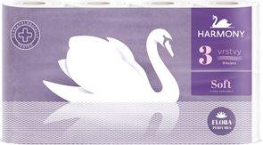 Harmony Soft Flora toaletní papír 3 vrstvý ( 8 ks )