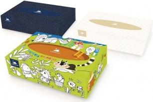 Harmony kapesníky v krabičce 2 vrstvé ( 100 ks )