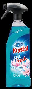 KRYSTAL olejový osvěžovač s rozprašovačem - modrý 750 ml