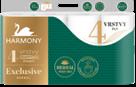 Harmony Exclusiv Herbal Perfumes toaletní papír 4 vrstvý - 8 ks