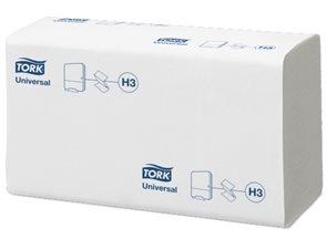 Tork Singlefold 290158 - papírové ručníky bílé ( 15 bal x 300 ks )