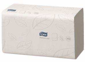 Tork Singlefold 290163 - papírové ručníky 2 vrstvé ( 15 bal x 250 ks )