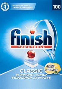 Finish tablety do myčky - lemon (100 ks)