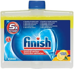 Finish čistič myčky - lemon 250 ml