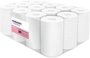 Harmony Profesional papírové ručníky Midi 2 vrstvé ( 12 rolí )