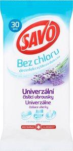 Savo dezinfekční čisticí ubrousky ( levandule ) - 30 ks MAXI